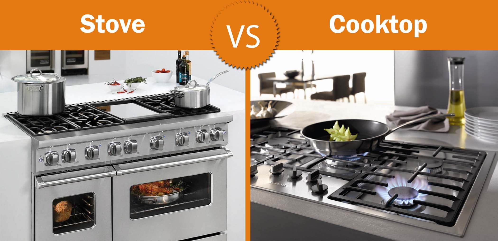What to choose: a stove or a cooktop?