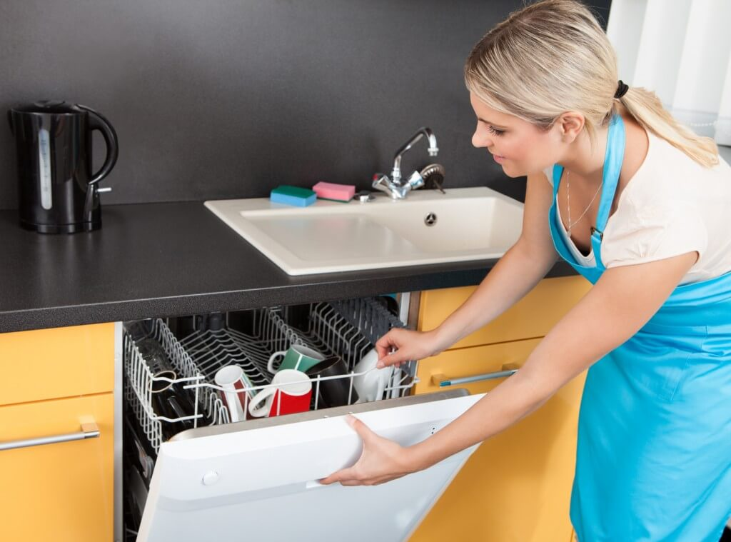 How to take care of a dishwasher?