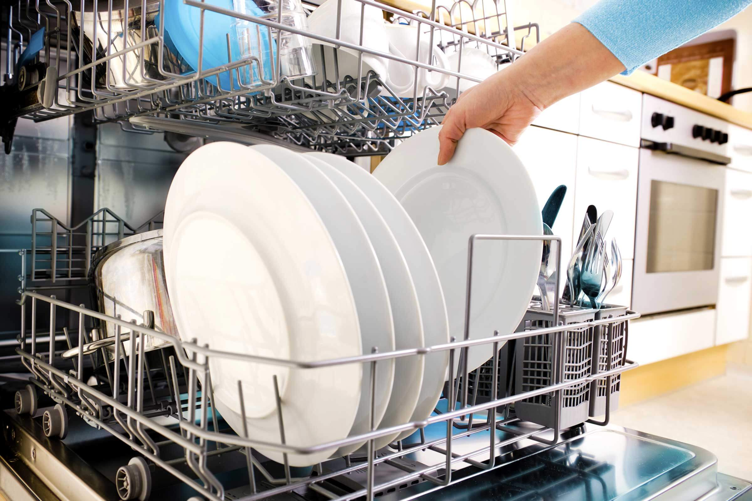 Basic rules for cleaning dishwasher