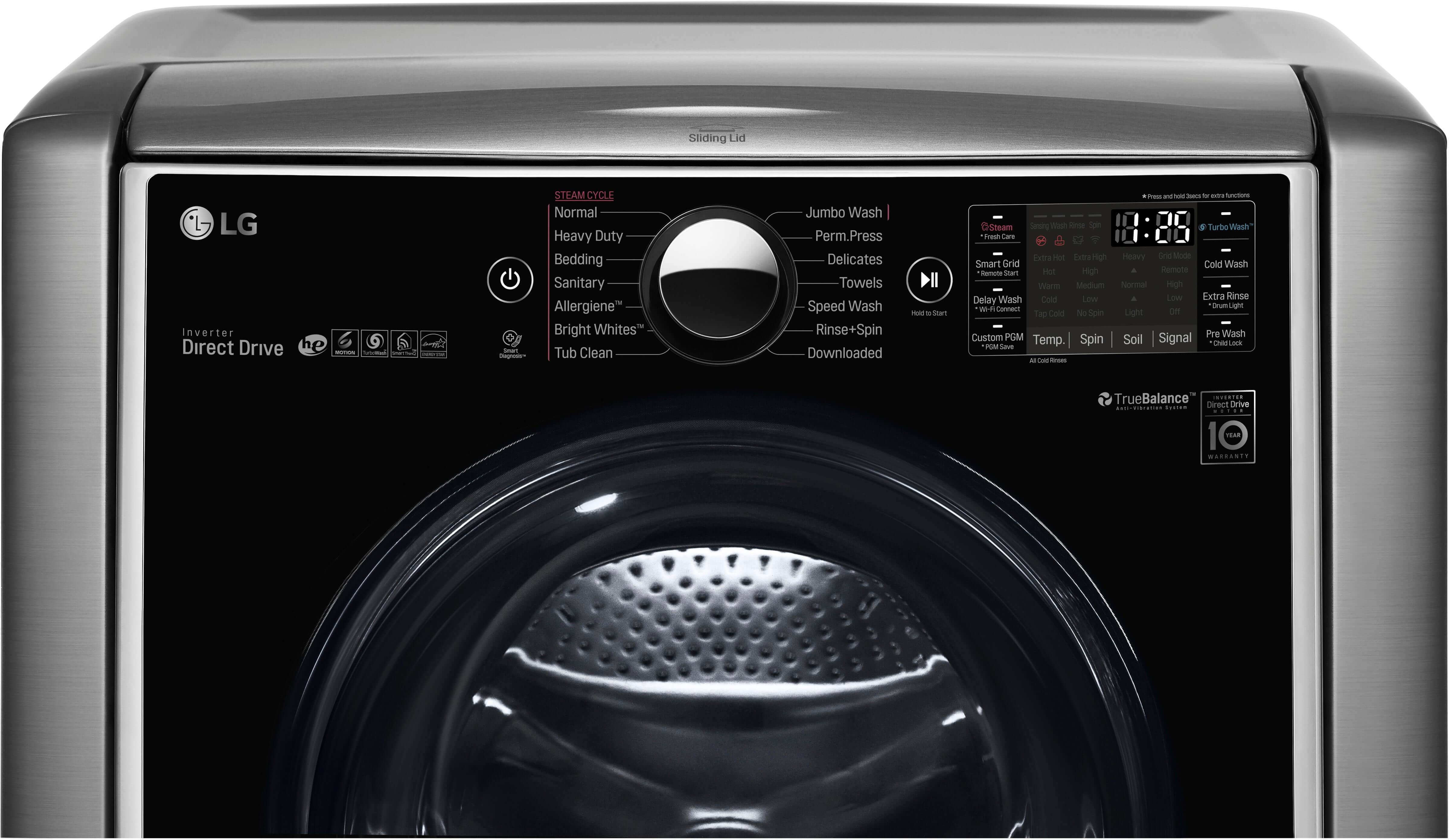 LG washing machine – UE and uE error codes